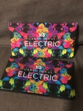 New Urban Decay ELECTRIC Pressed Pigment Eye Shadow Palette - Authentic