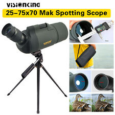 Visionking 25-75x70 CRATERE Maksutov MAK Angled Spotting Scope per huting bird-watching
