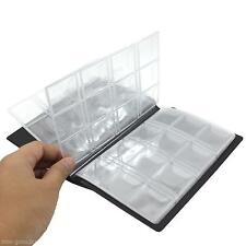 10 Pages 120 Coin Holder Collection Storage Case World Coin Pocket Album Book