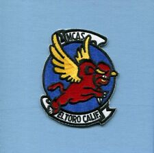 MCAS MARINE CORPS AIR STATION EL TORO CA USMC Base Squadron Patch