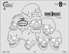 Mike Lavallee Bone Headz Eight 8 Dead Iwata Artool Freehand Airbrush Stencil