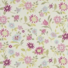 Clarke and Clarke Wildflowers Heather Floral Curtain Upholstery Craft Fabric