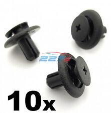 10x 7mm Plastic Trim Clips for Subaru Wheel Arch Linings & Engine Bay Covers