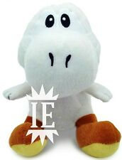 SUPER MARIO BROS. YOSHI BIANCO PELUCHE 17 CM PUPAZZO plush doll new white Blanc