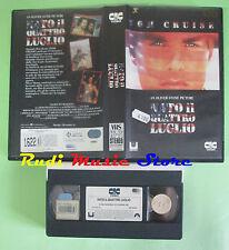 VHS film NATO IL QUATTRO LUGLIO 1990 Tom Cruise Oliver Stone CIC (F81) no dvd