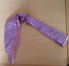 Pretty Pink Hair Band Alice Band/With White Polka Dots/Retro/Rockabilly/Kitsch