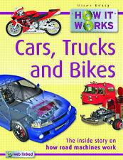 How it Works Cars, Trucks and Bikes by Steve Parker (Paperback, 2009)