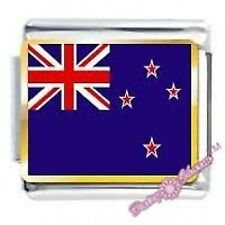 DAISY CHARM Picture Italian Charms - NEW ZEALAND FLAG