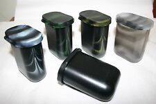 8 x ASSORTED Geocache Army Mini Decons Camo Containers QTY = 8 pieces