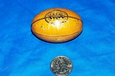 1930s German Toy Tin Litho Football Candy Holder Old Vintage Antique Germany