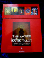 Rare-the sacred indian tarot. asiatique philosophie unique pont hindou karma
