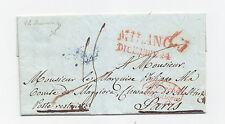 V791-LOMB.VENETO-PREF.MILANO/PARIGI 1836