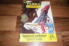 TERRA EXTRA  # 161 -- EXPERIMENTE mit DETANOL  //  Stanley G. Weinbaum ca 1960er
