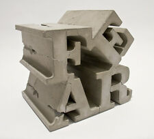 TYPE A 'FEAR', 2008 Cast Concrete Limited Edition Sculpture / Multiple 7x7x7 in.