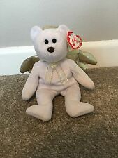 TY Halo 2 Year 2000 Angel Bear With Tag