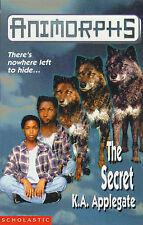 The Secret (Animorphs), Applegate, Katherine, Used; Good Book