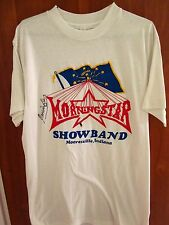 MORNINGSTAR Marco Island autographed T shirt Bob Snyder med tee Indiana