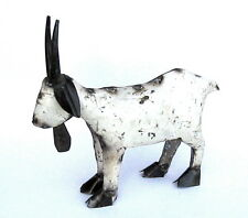 Yard Art Welded Small Metal Goat Sculpture - Metal Art - Home Decor -