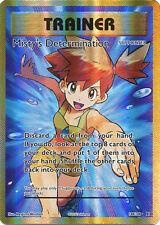 Misty's Determination Full Art Pokemon card , Evolutions, 108/108