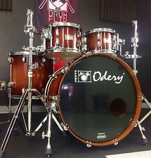 Odery Nyatoh Red River 5pc Drum Set NAMM 2017 Demo!