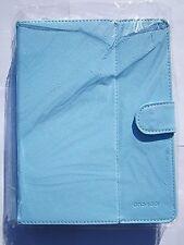 """BLUE Multi Angolo Custodia In Pelle Supporto per 8 """"MEDIACOM SMARTPAD 815I Tablet"""