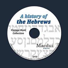 A history of the Hebrews – 2 Vintage e-Books Collection on 1 DATA DVD Jewish