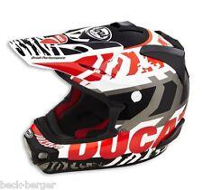 DUCATI Arai MX-V Explorer Enduro Helm Helmet schwarz rot NEU 2016 !!