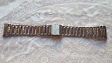 BRACELET MONTRE ACIER ////     WATCH BAND //  18MM ARGENTE   //   / REF AE21