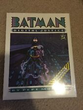 DC Batman Digital Justice By Pepe Moreno Hardback Book Still Sealed In  Cello