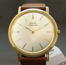 18K GOLD PIAGET 'Altiplano' 12P AUTOMATIC ULTRASLIM MICRO ROTOR SWISS Ref 12303