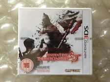 BRAND NEW FACTORY SEALED RESIDENT EVIL 3D THE MERCENARIES FOR NINTENDO 3DS