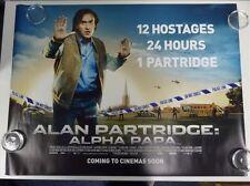 Alan Partridge: Alpha Papa Comedy Original Film / Movie Poster Quad 76x102cm