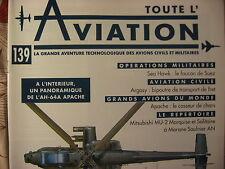 TOUTE L'AVIATION 138 SABRELINER /MITSUBISHI T2 ET F1 / PILATUS PC7 ET PC9