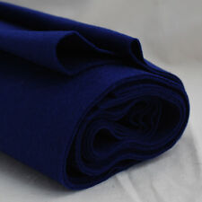 100% Wool Felt Fabric - 1mm Thick - Made in Europe - Royal Blue - 1/2m x 1.6m