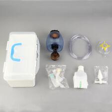 Manual Resuscitator PVC Adult Ambu Bag + Oxygen Tube First Aid kit New F7K