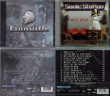 2 CDs, Lionville (debut+3, 2011) + Sonic Station - Next Stop +4, AOR,Work Of Art