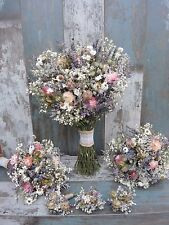 Wedding Bouquets Bridal+2 Bridesmaid+3 Buttoholes Dried Flowers English Country