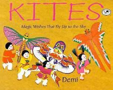 Kites: Magic Wishes That Fly Up to the Sky-ExLibrary