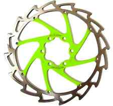 Alligator Windcutter APPLE GREEN Disc Rotor 140mm c62g Cannondale Merida +bolts