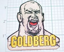 Bill Goldberg World Championship Wrestling WCW WWE MMA Vintage Iron-On Patch