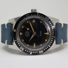NIVREL Vintage Dive Watch 1970s con splendida patina