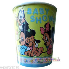 DISNEY BABIES BABY SHOWER 7oz PAPER CUPS (8) ~ Party Supplies Yellow Beverage