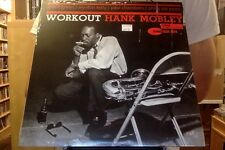 Hank Mobley Workout LP sealed vinyl RE reissue Blue Note
