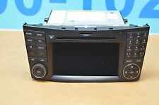 09-11 W219 W211 MB CLS550 CLS63 E550 E350 NAVIGATION AUDIO COMMAND RADIO DISPLAY