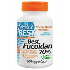 Fucoidan 70% - 60 Vcaps by Doctor's Best - Immune Boosting Seaweed Supplement