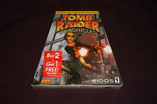 Tomb Raider: Chronicles (PC, 2000) TRAPEZOID BIG BOX! NEW! STILL SEALED