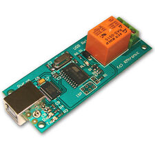 KMTronic USB One Relay Controller, RS232 Serial controlled, PCB