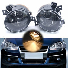 Pair Bumper Fog Light Lamp For VW Volkswagen Golf Jetta Bora MK5 05-10 H11 Bulb