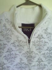 men's Ivory  * BKE * the buckle graphic quarter zip sweater - Sz  large