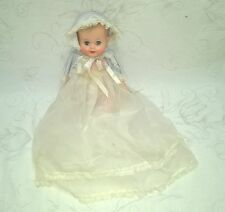 VINTAGE VINYL BABY DOLL CHRISTENING OUTFIT MINTY $17.99